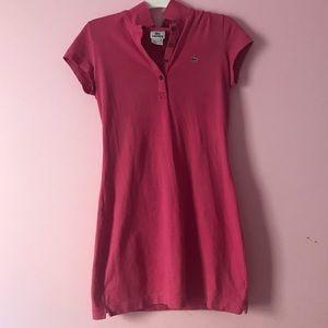 Juniors Lacoste T-Shirt Dress.